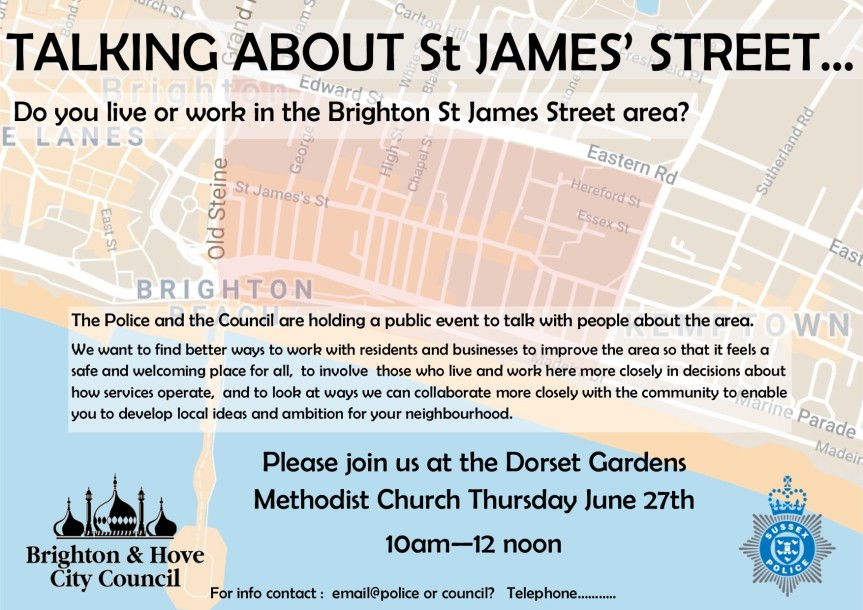 Talking about St James Street…
